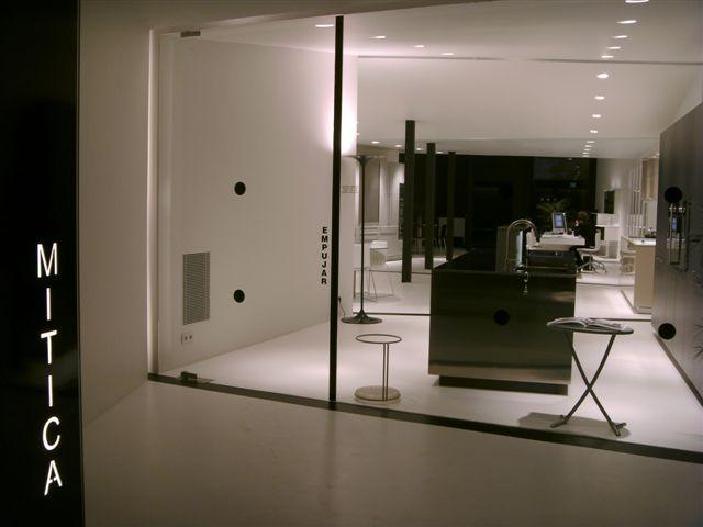 El nuevo showroom de MITICA cocinas+baños. Logroño   Interiorismo ...