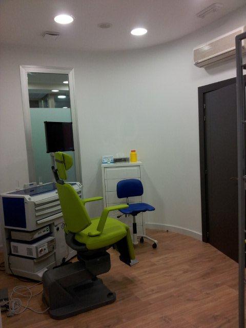 Sala exploración Nariz - Clinica Calzada Estudio decoración y diseño de interiores JF interiorismo Logroño Decoradores