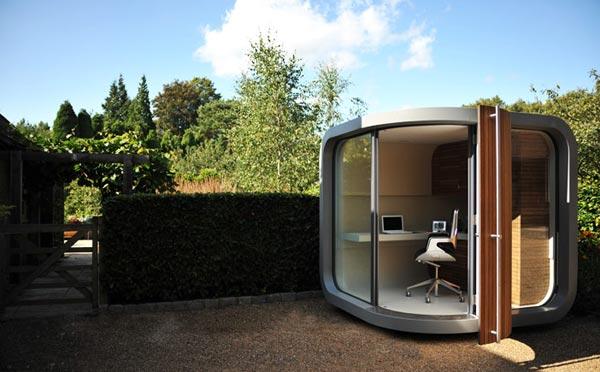 Una oficina prefabricada en casa officepod uk interiorismo mundano logro o la rioja - Casas prefabricadas en la rioja ...