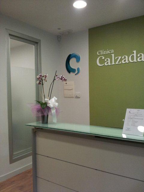 Recepción Clinica Calzada Estudio decoración y diseño de interiores JF interiorismo Logroño Decoradores