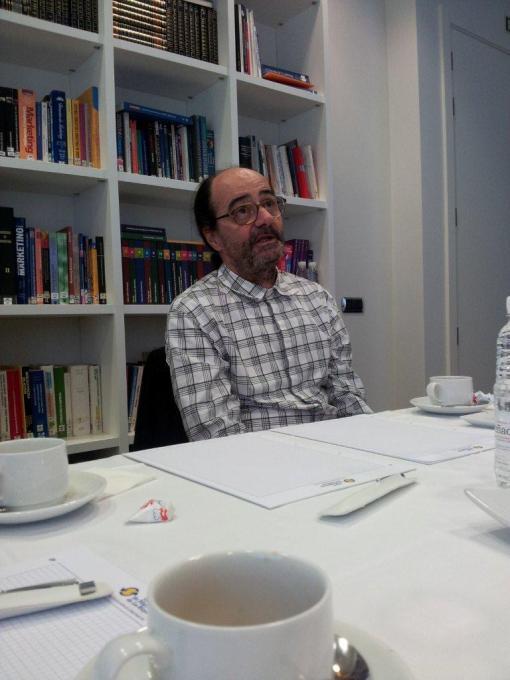 El interiorista y Premio Nacional de Diseño CarlesRiart en Logroño